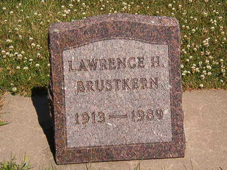BRUSTKERN, LAWRENCE H. - Black Hawk County, Iowa   LAWRENCE H. BRUSTKERN