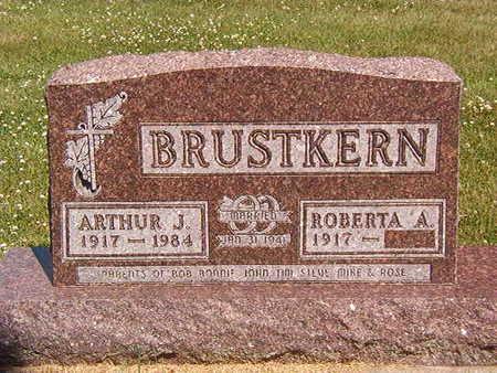BRUSTKERN, ROBERTA  A. - Black Hawk County, Iowa | ROBERTA  A. BRUSTKERN