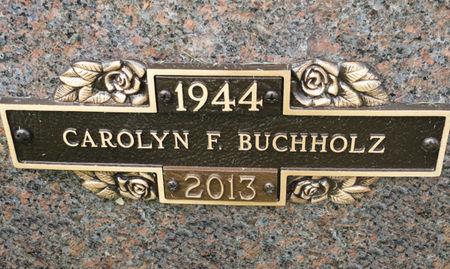 BUCHHOLZ, CAROLYN F. - Black Hawk County, Iowa | CAROLYN F. BUCHHOLZ