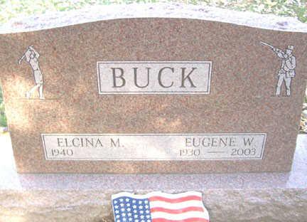 BUCK, EUGENE W. - Black Hawk County, Iowa | EUGENE W. BUCK