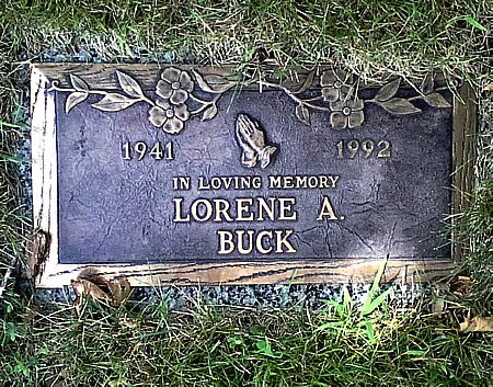 BUCK, LORENE A. - Black Hawk County, Iowa | LORENE A. BUCK