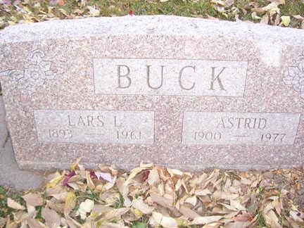 BUCK, LARS - Black Hawk County, Iowa | LARS BUCK
