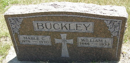 BUCKLEY, WILLIAM L. - Black Hawk County, Iowa | WILLIAM L. BUCKLEY