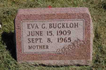 BUCKLOH, EVA GRACE - Black Hawk County, Iowa | EVA GRACE BUCKLOH