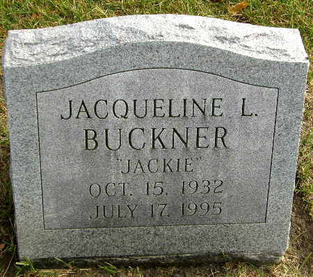 BUCKNER, JACQUELINE L. - Black Hawk County, Iowa | JACQUELINE L. BUCKNER