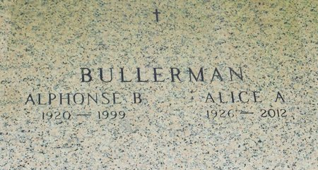 BRUESS BULLERMAN, ALICE A. - Black Hawk County, Iowa | ALICE A. BRUESS BULLERMAN