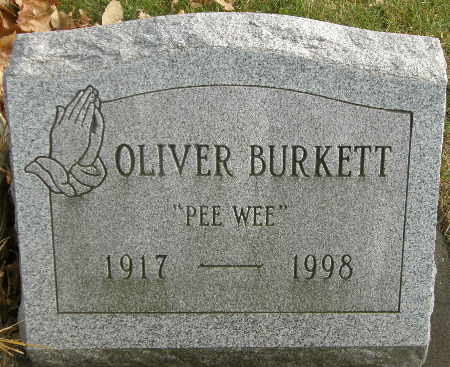BURKETT, OLIVER - Black Hawk County, Iowa | OLIVER BURKETT