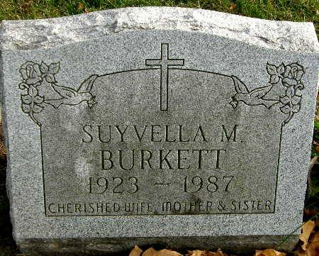 BURKETT, SUYVELLA M. - Black Hawk County, Iowa | SUYVELLA M. BURKETT