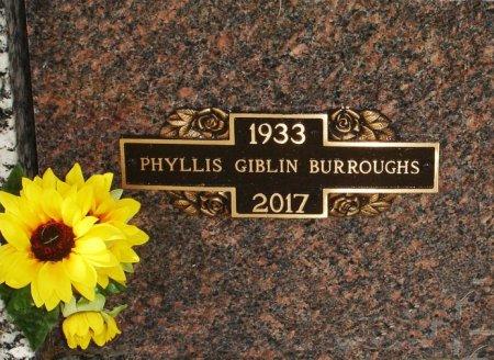 FINK BURROUGHS, PHYLLIS J. GIBLIN - Black Hawk County, Iowa | PHYLLIS J. GIBLIN FINK BURROUGHS