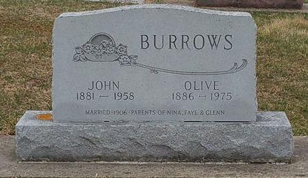 BURROWS, JOHN - Black Hawk County, Iowa | JOHN BURROWS
