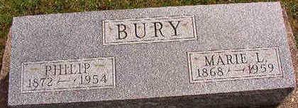 BURY, PHILIP - Black Hawk County, Iowa | PHILIP BURY