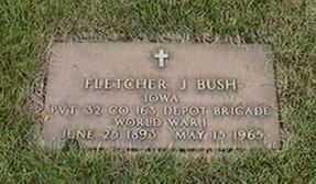 BUSH, FLETCHER J. - Black Hawk County, Iowa | FLETCHER J. BUSH
