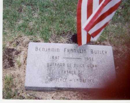 BUTLER, BENJAMIN FRANKLIN - Black Hawk County, Iowa   BENJAMIN FRANKLIN BUTLER