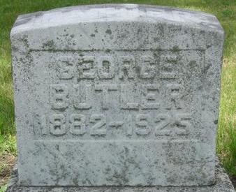 BUTLER, GEORGE - Black Hawk County, Iowa | GEORGE BUTLER