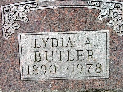 GUSHARD BUTLER, LYDIA - Black Hawk County, Iowa | LYDIA GUSHARD BUTLER