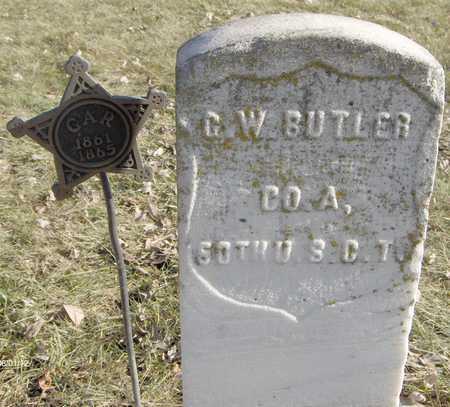 BUTLER, PVT. GEORGE W. - Black Hawk County, Iowa | PVT. GEORGE W. BUTLER