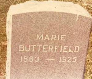BUTTERFIELD, MARIE - Black Hawk County, Iowa | MARIE BUTTERFIELD