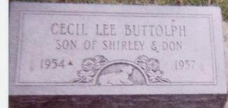 BUTTOLPH, CECIL LEE - Black Hawk County, Iowa | CECIL LEE BUTTOLPH