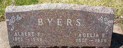 BYERS, ADELIA E. - Black Hawk County, Iowa   ADELIA E. BYERS