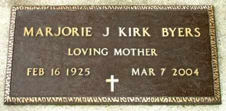KIRK BYERS, MARJORIE J. - Black Hawk County, Iowa | MARJORIE J. KIRK BYERS