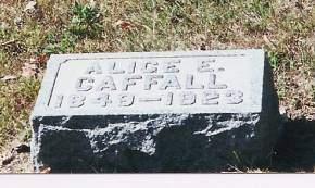 CAFFALL, ALICE E. - Black Hawk County, Iowa | ALICE E. CAFFALL