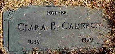CAMERON, CLARA B. - Black Hawk County, Iowa | CLARA B. CAMERON