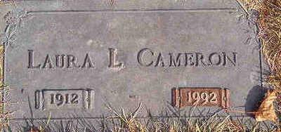 CAMERON, LAURA L. - Black Hawk County, Iowa | LAURA L. CAMERON
