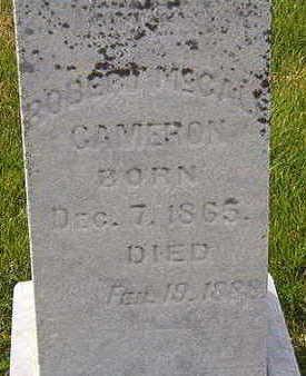 CAMERON, ROBERT - Black Hawk County, Iowa   ROBERT CAMERON