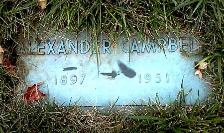 CAMPBELL, ALEXANDER - Black Hawk County, Iowa | ALEXANDER CAMPBELL