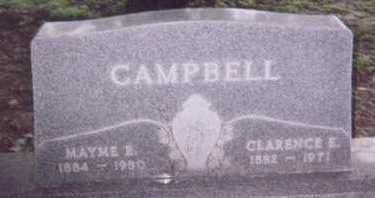 CAMPBELL, MAYME E. - Black Hawk County, Iowa | MAYME E. CAMPBELL