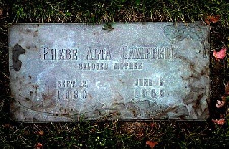 CAMPBELL, PHEBE ALTA - Black Hawk County, Iowa | PHEBE ALTA CAMPBELL
