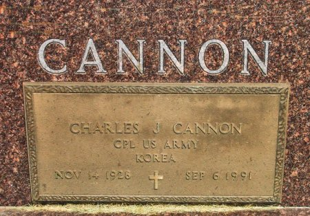 CANNON, CHARLES J.