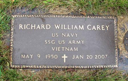 CAREY, RICHARD WILLIAM - Black Hawk County, Iowa   RICHARD WILLIAM CAREY