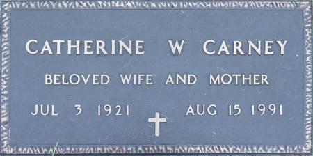 WALKER CARNEY, CATHERINE MARION - Black Hawk County, Iowa   CATHERINE MARION WALKER CARNEY