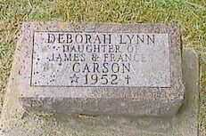 CARSON, DEBORAH LYNN - Black Hawk County, Iowa | DEBORAH LYNN CARSON