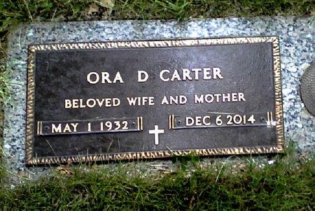 CARTER, ORA D. - Black Hawk County, Iowa   ORA D. CARTER