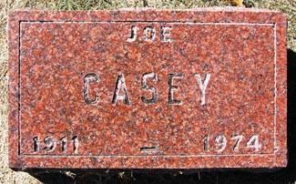CASEY, JOE - Black Hawk County, Iowa | JOE CASEY