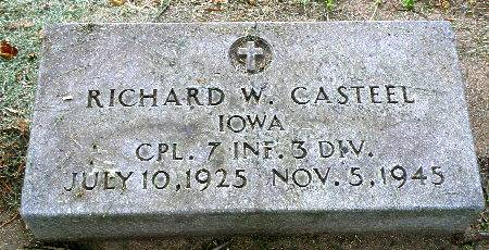 CASTEEL, RICHARD W. - Black Hawk County, Iowa | RICHARD W. CASTEEL