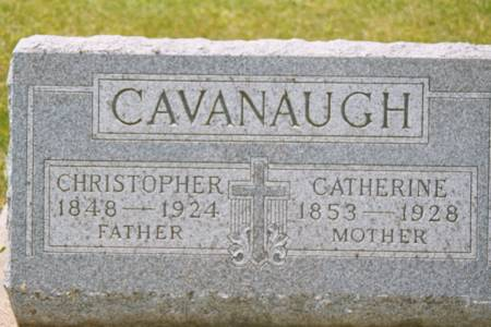 CAVANAUGH, CATHERINE - Black Hawk County, Iowa | CATHERINE CAVANAUGH