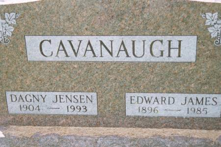 CAVANAUGH, DAGNY JENSEN - Black Hawk County, Iowa | DAGNY JENSEN CAVANAUGH