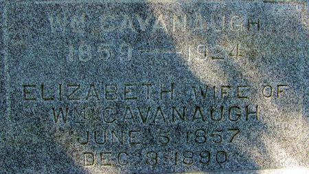CAVANAUGH, ELIZABETH - Black Hawk County, Iowa | ELIZABETH CAVANAUGH