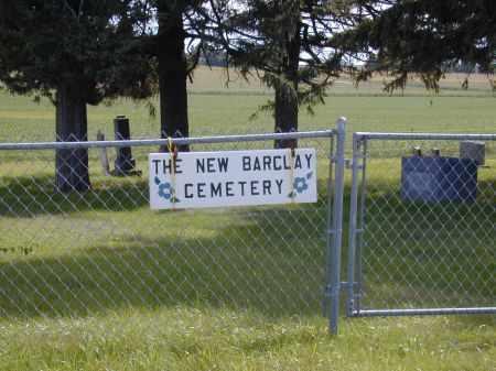 NEW BARCLAY, CEMETERY - Black Hawk County, Iowa   CEMETERY NEW BARCLAY