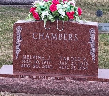 CHAMBERS, HAROLD R. - Black Hawk County, Iowa | HAROLD R. CHAMBERS