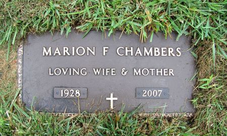 CHAMBERS, MARION F. - Black Hawk County, Iowa | MARION F. CHAMBERS