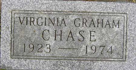 CHASE, VIRGINIA - Black Hawk County, Iowa | VIRGINIA CHASE