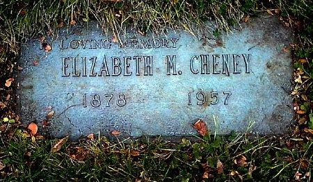 CHENEY, ELIZABETH M. - Black Hawk County, Iowa   ELIZABETH M. CHENEY