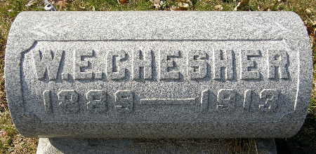 CHESHER, W. E. - Black Hawk County, Iowa | W. E. CHESHER