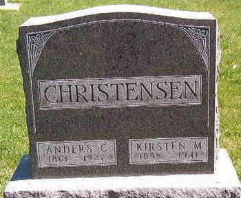 CHRISTENSEN, KIRSTEN M. - Black Hawk County, Iowa | KIRSTEN M. CHRISTENSEN