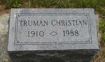 CHRISTIAN, TRUMAN - Black Hawk County, Iowa | TRUMAN CHRISTIAN