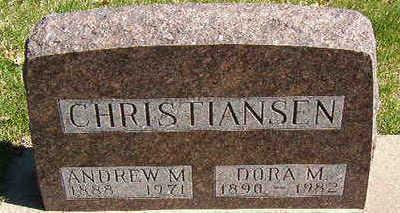CHRISTIANSEN, ANDREW M. - Black Hawk County, Iowa | ANDREW M. CHRISTIANSEN